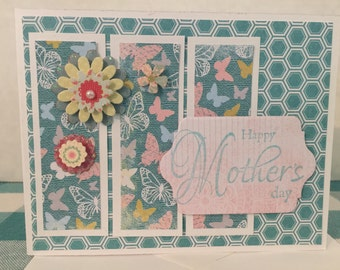 Mothers Day Butterfly Card M11