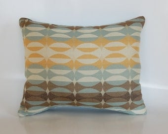 Multi-Colored Rectangle Pillow