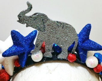 Republican Party Headband