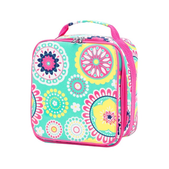 Piper Paisley lunch bag lunch box monogrammed lunch box lunch bag