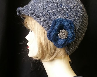 Hirten-Tweed Flapper Hat