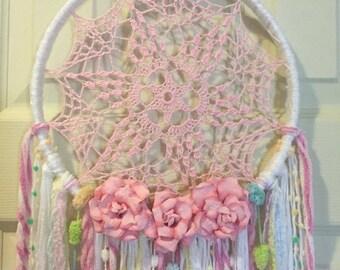 Crocheted doily DreamCatcher
