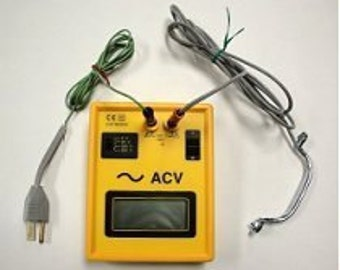 Body Voltage Meter--Measure the Voltage Effects of EMF on Your Body!