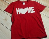 Cleveland V-Neck Tshirt Red
