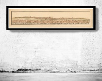 Old Constantinople Istanbul Panoramic View 1686