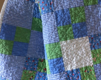Simple & Sweet Baby Quilt