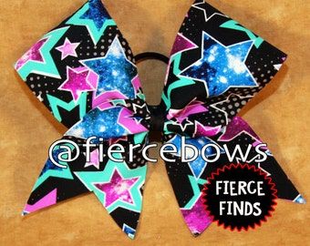 Star Light Star Bright Cheer Bow