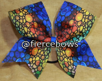 Butterfly Wings Cheer Bow