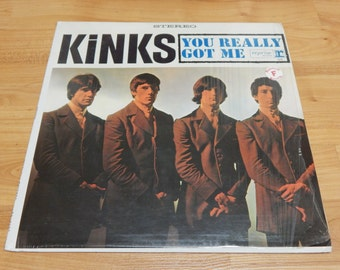 The Kinks You Really Got Me Still in Original Shrink Vinyl Record LP