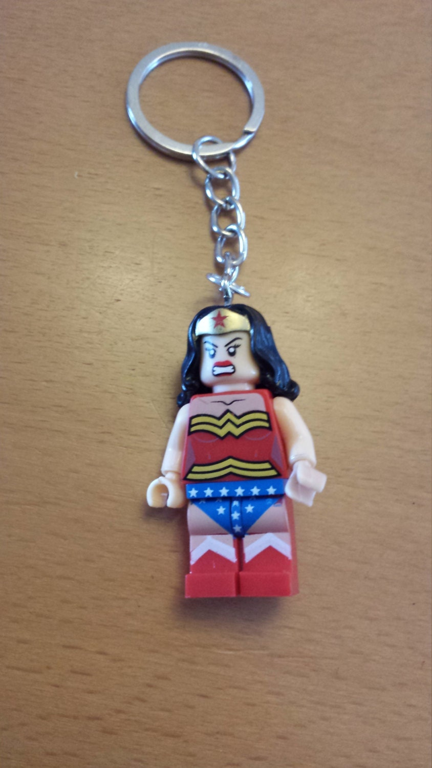 Wonder Woman Keyring By Kikideetreats On Etsy
