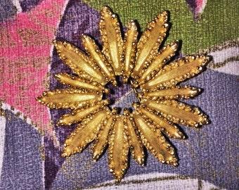 Vintage AVON Starburst Brooch
