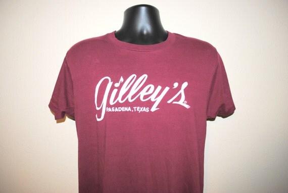 80 39 s gilley 39 s pasadena texas classic vintage urban for T shirt printing pasadena tx