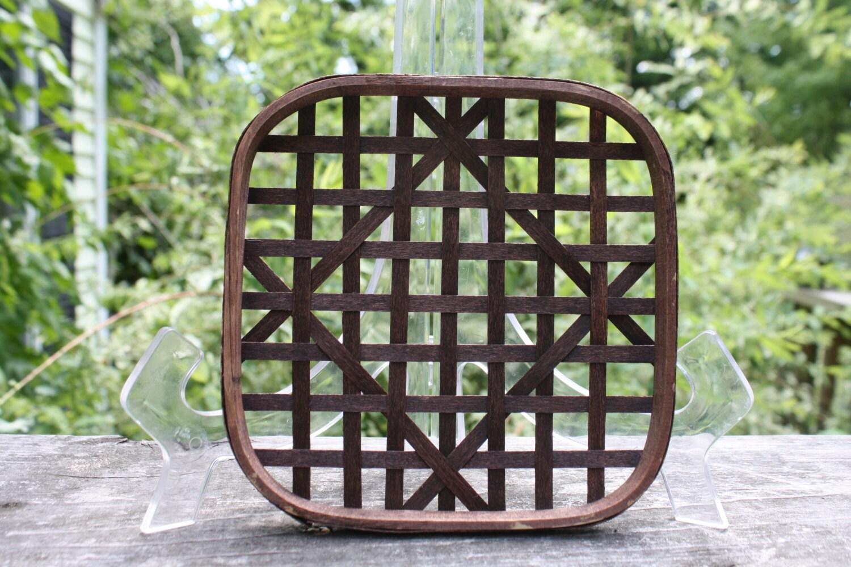 Handmade Baskets North Carolina : North carolina tobacco basket reproduction by