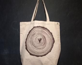Love Stump Tote Bag