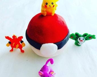Poke Ball - Pokemon- Bubble Bar - Solid Bubble Bath