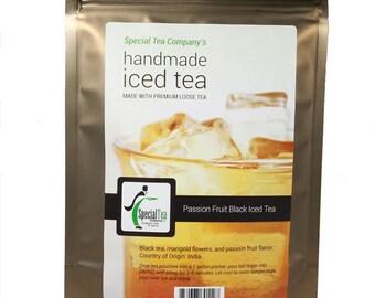 Passion Fruit  Black Iced Tea, Makes 1 Gallon