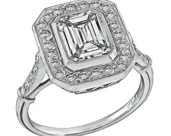 GIA Certified 1.95ct Diamond Engagement Ring