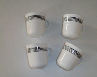 Corelle Optic Set Of Four Coffee Mugs