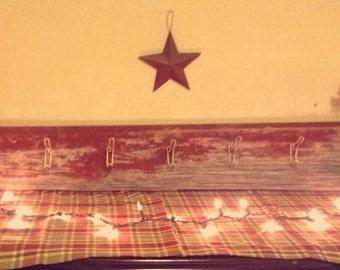 Beautiful Barn Board Coat Rack