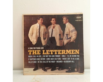 a song for young love | the lettermen vinyl record