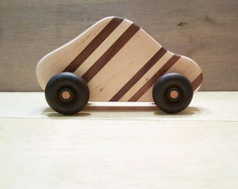 Handmade Wood Toy Car
