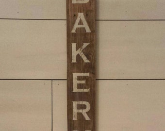 BAKERY, Sign, Rustic, Kitchen Decor, Wall Decor, Rustic Sign, Farmhouse, Rustic Decor, Bakery Sign, Farmhouse Decor, Wood Sign, Home Decor