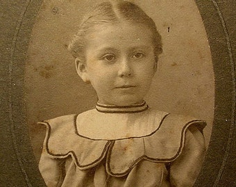 "Antique Photo 1890's "" Little Helen """