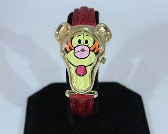 Timex Pooh Tigger Cartoon Quartz Watch