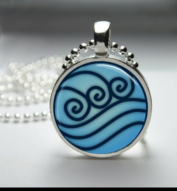 katara inspired water tribe betrothal necklace avatar the