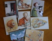 Greeting cards - pack of 8