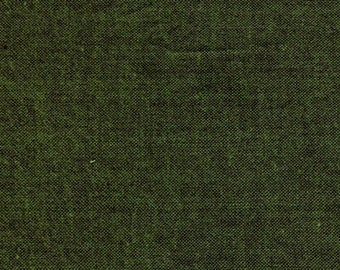 Jungle Peppered Cotton 29, Shot Cotton from Studio E - modern solid cotton, yarn dyed, solid green fabric, crossweave, cross weave