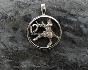 Christmas Charm, Twelve Drummers Drumming - Handmade in 14k Gold or Sterling Silver