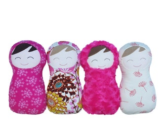 Build Your Own Baby Doll, Create Your Own Snuggly Swaddle Doll, Custom Doll, My First Doll