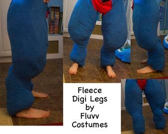 Fursuit Digitigrade Leg Costume Padding Sleeves