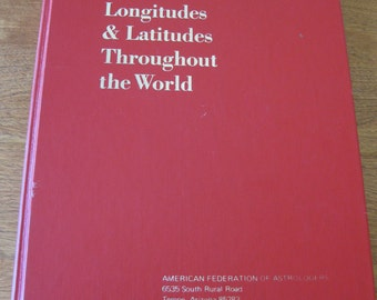 50% Off Antique Astrology Book by The American Federation Of Astrologers