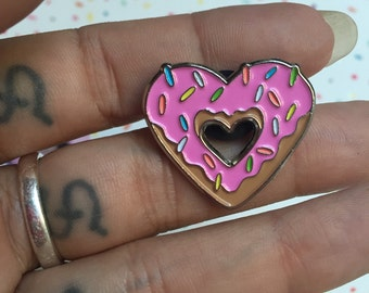 For The Love Of Donuts Enamel Pin