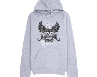Scorpio Loyalty Is Royalty Premium Pullover Hoodie