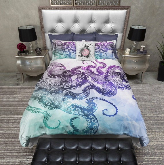 ★Octopus Bloom Duvet Cover Set by East Urban Home™ >>>Find for discount Octopus Bloom Duvet Cover Set by East Urban Home check price now. on-line searching has currently gone a protracted manner; it's modified the way customers and entrepreneurs do busin.