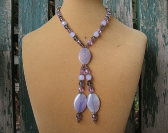 Lavender Choker Necklace