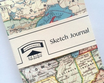 USA Map Sketch Journal