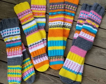Free Spirit Knee High Socks/Slippers(canada)