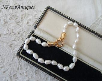 Salt water pearl bracelet