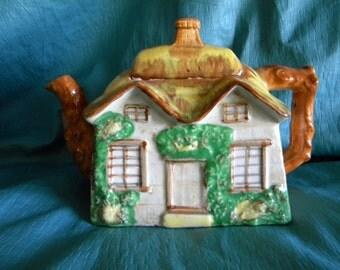 Antique Cottage Teapot