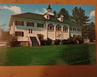 Vintage Original Berkshire Playhouse Stockbridge Massachusetts Postcard Free Shipping