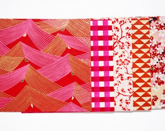 "japanese paper for origami ""Red/White"""