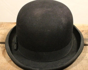 1920s English Bowler Hat