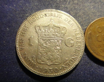 1930 Silver Coin from the Netherlands ***FREE SHIPPING***