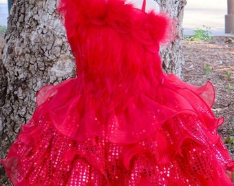 Red Fairy Dress