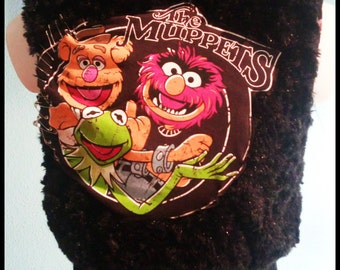THE MUPPETS hair PUNK vest