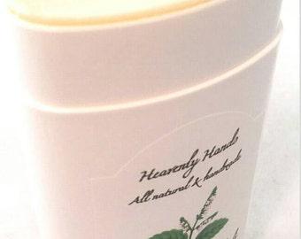 Patchouli, Lemon & Cloves  - Natural Deodorant - Aluminum Free - Stick Deodorant